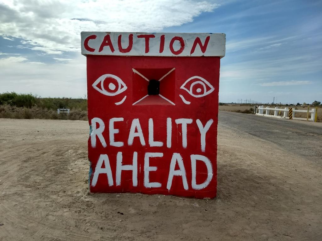 Caution Reality Ahead The Frugal Humanist